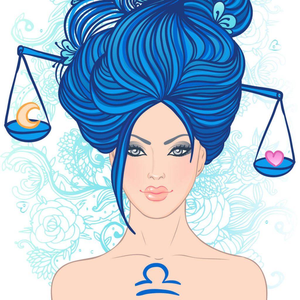 affinité amoureuse - Femme Balance