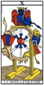 tarot divinatoire La roue