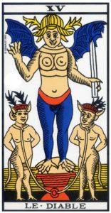carte tarot divinatoire le Diable