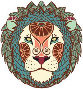 signe au masculin - Lion