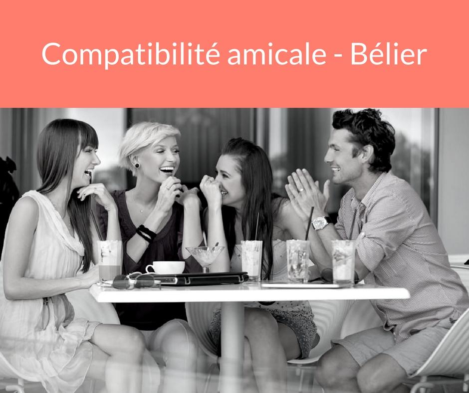 Compatibilité amicale - Bélier