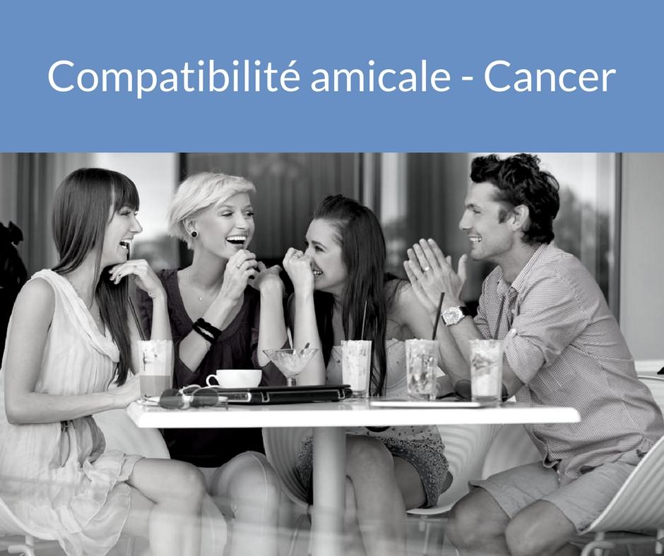 Compatibilité amicale - Cancer. Trouvez un ami grâce aux astres