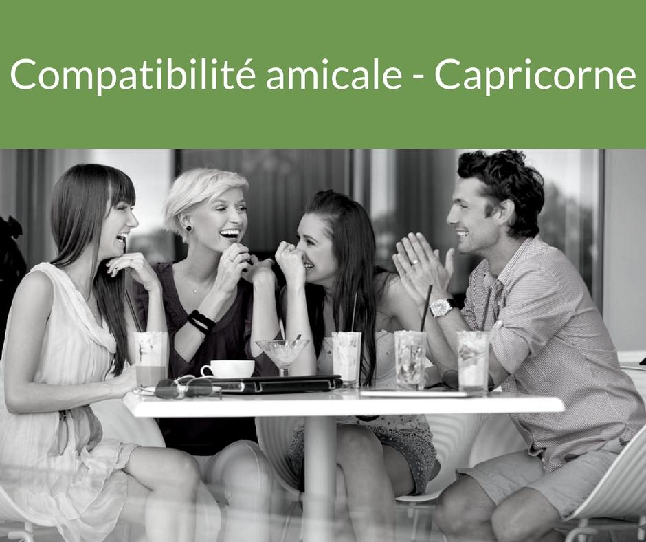 Compatibilité amicale - Capricorne. Trouvez un ami grâce aux astres