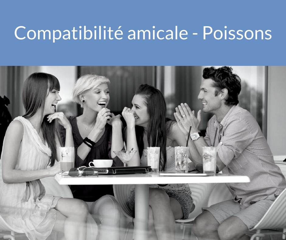 Compatibilité amicale - Poissons. Trouvez un ami grâce aux astres