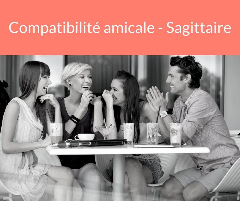 Compatibilité amicale - Sagittaire. Trouvez un ami grâce aux astres
