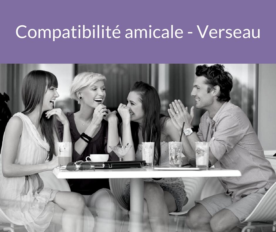 Compatibilité amicale - Verseau. Trouvez un ami grâce aux astres