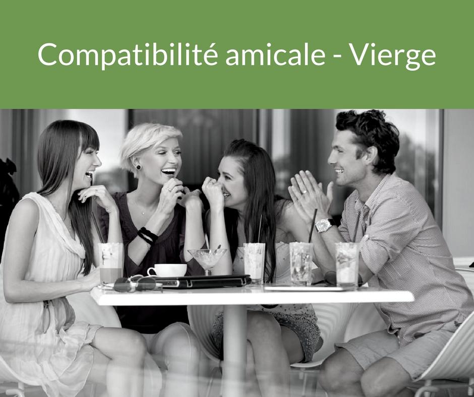 Compatibilité amicale - Vierge. Trouvez un ami grâce aux astres